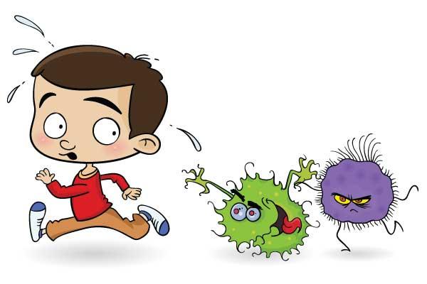 flu | Nutrition and Food Safety |Flu Bug Cartoons