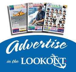 advertise in the lookout button