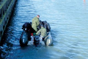 CF divers conduct harbour clearance ops in Ebeltoft, Denmark