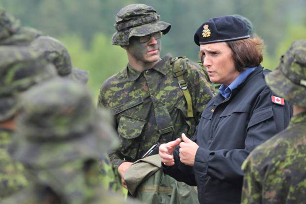 Leading as a woman in the Canadian ForcesWomen In The Canadian Military