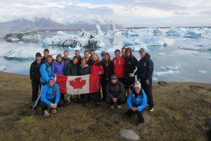 International Expedition in Iceland