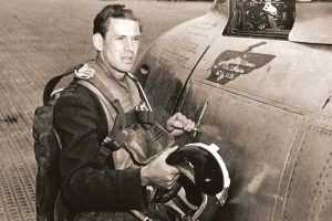 RCAF Flight Lieutenant Larry Spurr