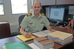 LCol Steven Richards, Deputy Director of Military Prosecutions