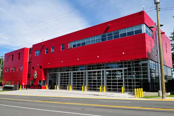 New Fire Hall opens - Pacific Navy News : Pacific Navy News