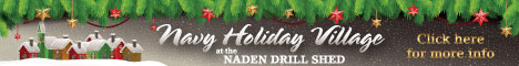 Navy Holiday Village ad