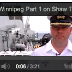 HMCS Winnipeg featured on Shaw