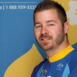 Cpl Adam Carruthers of the CFB Esquimalt Military Police will join 23 other riders on this year's Tour de Rock.
