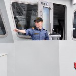 Lt(N) Ellen Delong has made her mark in the history books by becoming the first female officer in charge of an Orca training vessel.