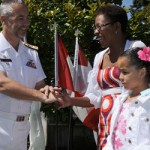 Admirals Garden Party MARPAC RAdm Bill Truelove