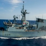HMCS Regina is expected home in mid-September, 2014.
